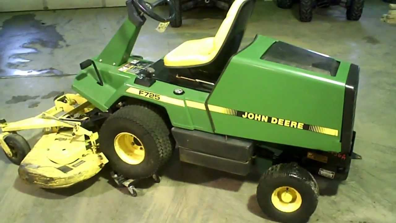 Lot 1456a john deere front mount f725 54 deck w bagger lot 1456a john deere front mount f725 54 deck w bagger powerflow youtube pooptronica