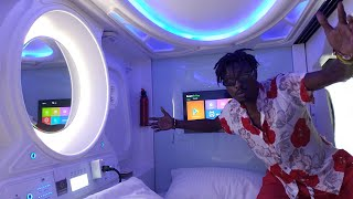 insane $16 Thailand Capsule Hotel 2020 !!! ( this is the future ) || iam_marwa