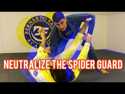 How To Neutralize The Spider Guard And Set Up Multiple Guard Pass Options