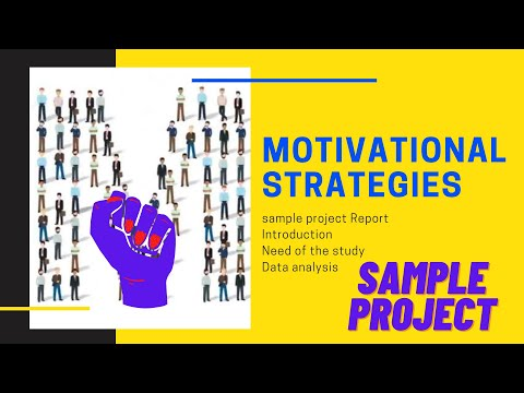 Motivational Strategies MBA HR Project