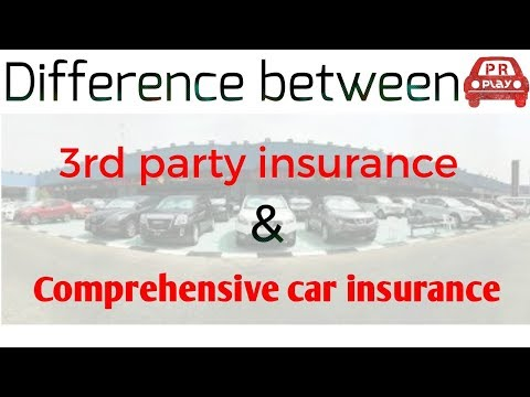Comprehensive car insurance & third party insurance