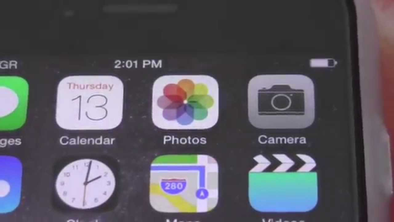 How to set battery percentage on iphone 6 iphone 6 plus youtube