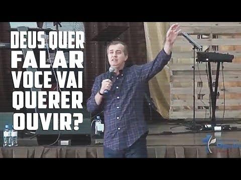 DEUS QUER FALAR, VOCÊ QUER OUVIR? | Luiz Hermínio
