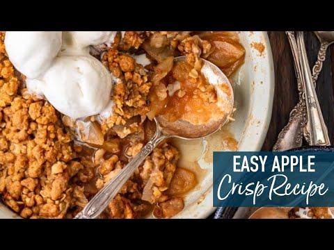 Easy Apple Crisp!