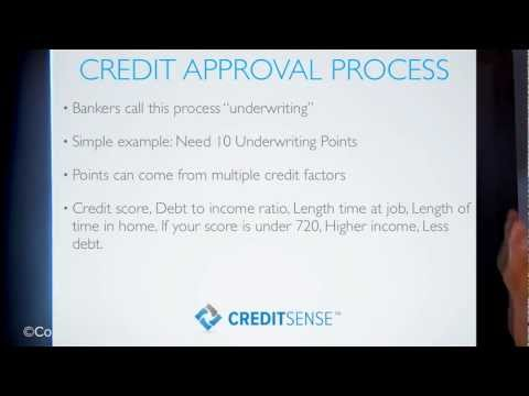Credit Approval (Underwriting) Process Tutorial |  CreditSense.com