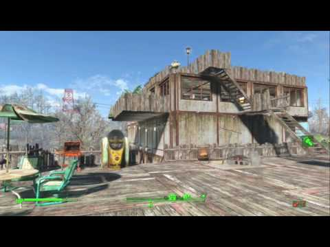 Fallout 4 Taffington Boathouse Settlement (no mods