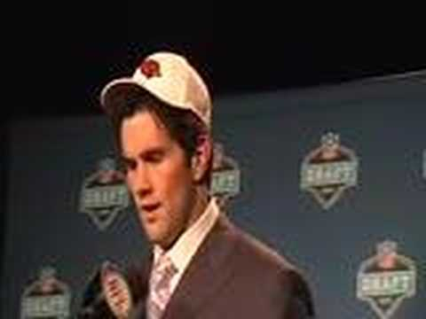 Matt Leinart Arizona Cardinals 2006 NFL Draft Press Conference