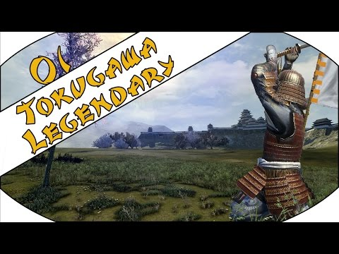 BRIBE TO WIN - Tokugawa (Legendary) - Total War: Shogun 2 - Ep.01!