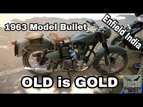 ENFIELD INDIA Old Bullet model 1963 | Royal Enfield
