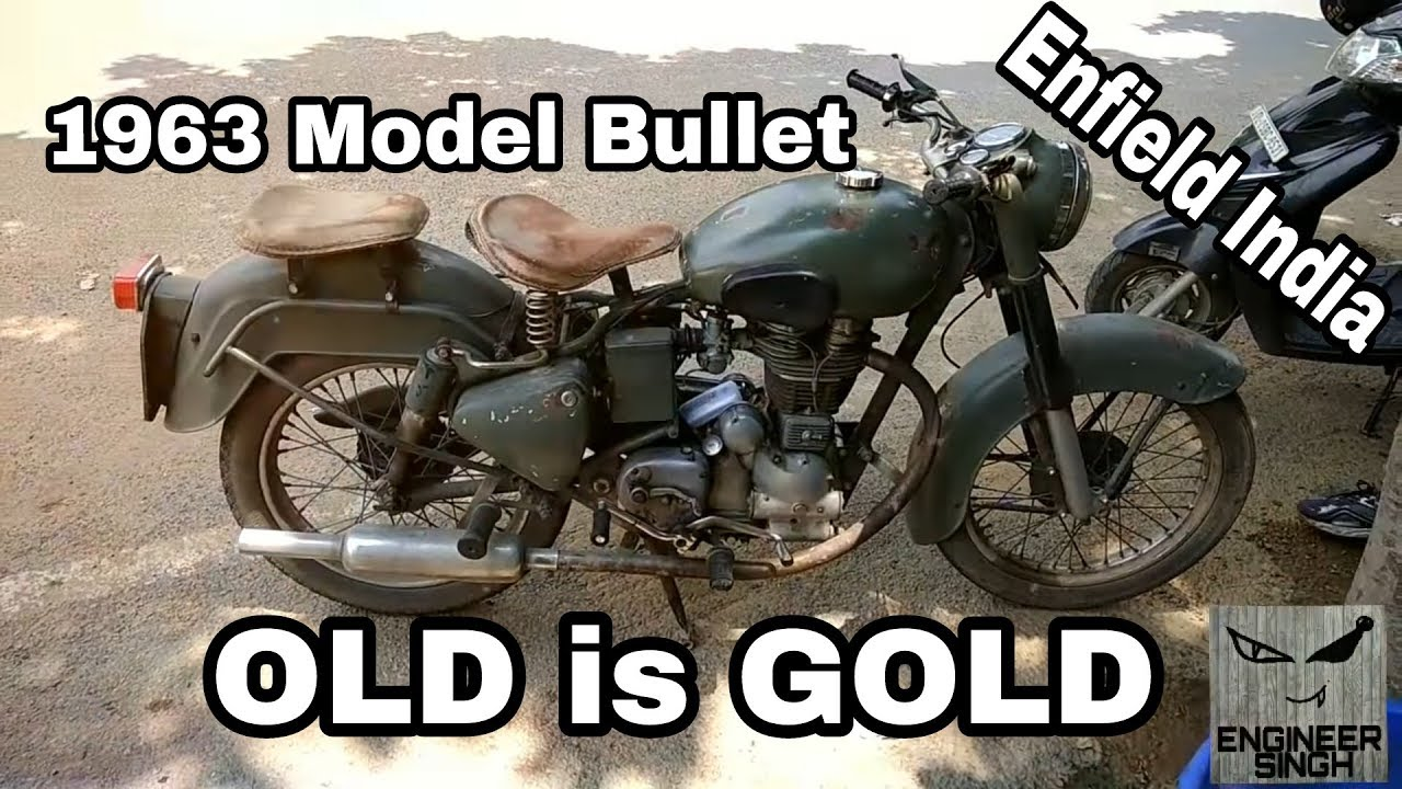 enfield india old bullet