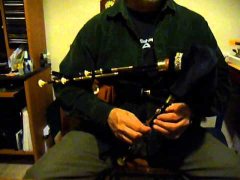 Burleigh Northumbrian Smallpipes 11-Key set in D