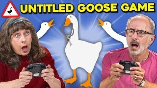 Elders Play The Untitled Goose Game