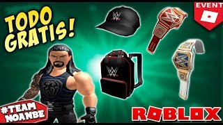 Rthro Avatars, Free Roblox Event Items and Clothing 2019 WWE