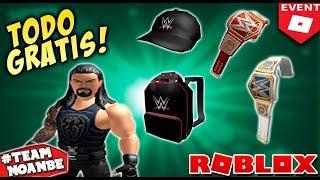 Rthro Avatars, Articoli evento Roblox gratuiti e abbigliamento 2019 WWE
