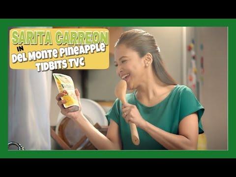 Sarita Carreon for Del Monte Pineapple Tidbits TVC 2015