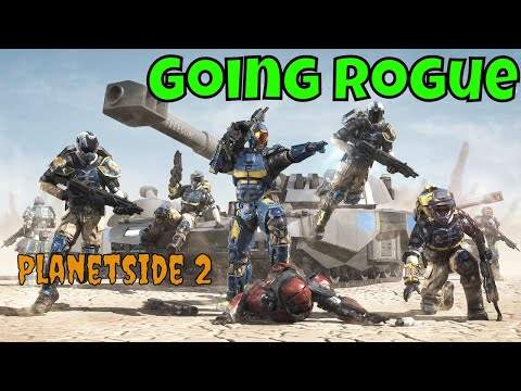 Planetside 2 Epic Gameplay Going Rogue Fun Montage