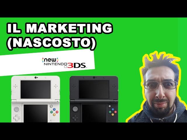 New Nintendo 3DS unboxing ita + il Marketing (nascosto) dell'utente