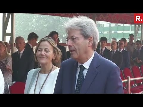 Italian Prime Minister Paolo Gentiloni Is Very Happy To Visit India