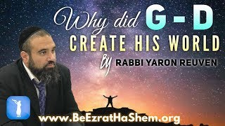 MUSSAR Pirkei Avot (176) Why Did God Create His World
