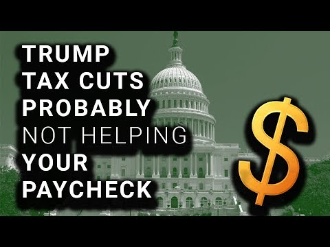 """Poll: Most Americans Not Getting Bigger Paychecks After """"Tax Cuts"""""""