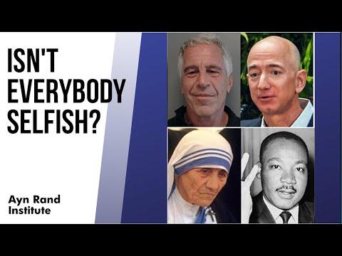 Isn't Everybody Selfish? By Gregory Salmieri