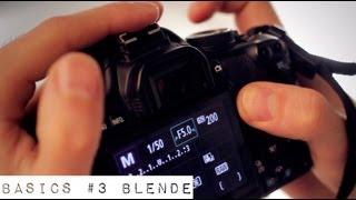 WAS IST EINE BLENDE ? FOTOGRAFIEREN LERNEN - Fotografie Grundlagen #3