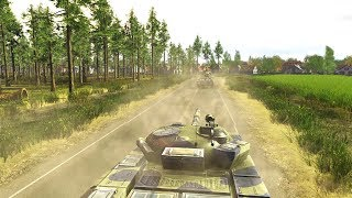 NATO Forces Battle to Defend High Ground at Border | Wargame: European Escalation Gameplay