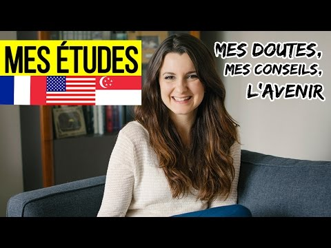 MES ÉTUDES INTERNATIONALES : USA, Singapour + Mes doutes et l'AVENIR