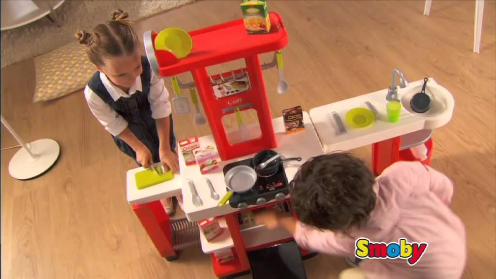 Kuchnia Dla Dzieci Cook Master Smoby Youtube