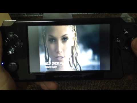 4.3 Inch Touch Screen 32 Bit Handheld Game Console MP5 Players.