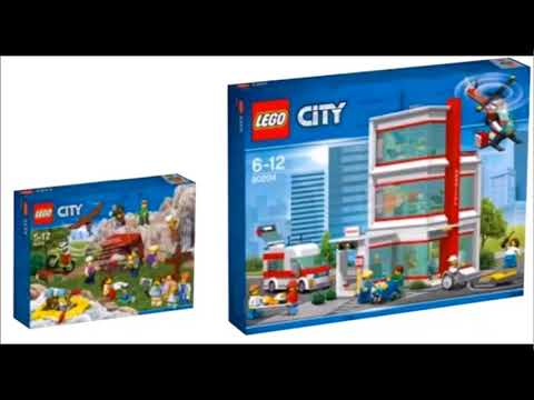 lego city 2018 summer sets youtube. Black Bedroom Furniture Sets. Home Design Ideas