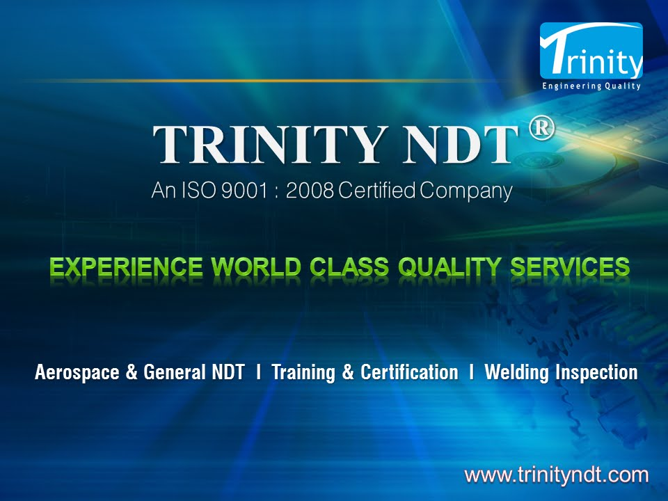 Trinity Ndt World Class Ndt Training Certification Services