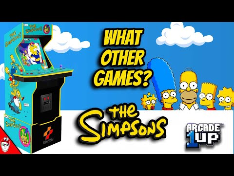 Arcade1Up - The Simpsons Cabinet needs more than 1 game from Console Kits