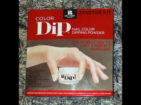 Dip Powder With Gel Polish