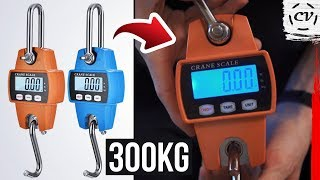 Electronic Crane Scale Review (300kg Model) - For Only $20