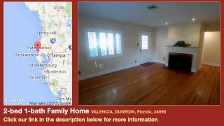 2-bed 1-bath Family Home for Sale in Dunedin, Florida on florida-magic.com