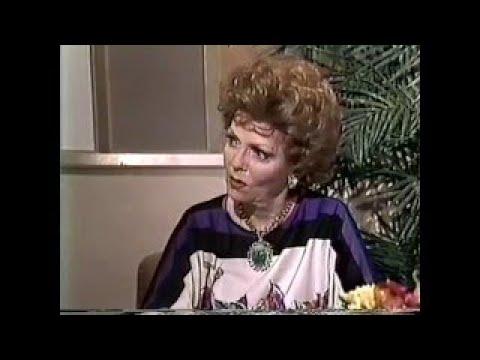 Vivian Blaine, Meredith MacRae 1983 TV Interview, AIDS Benefit