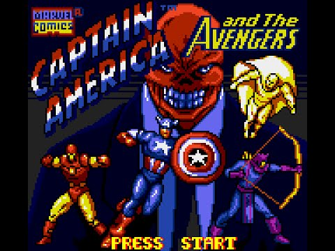 Game Gear Longplay [067] Captain America and the Avengers