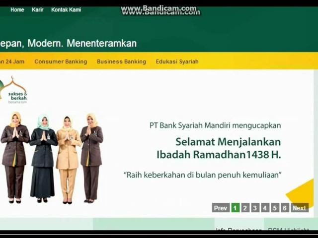 Cara Cek Saldo Bank Syariah Mandiri Lewat Internet Youtube