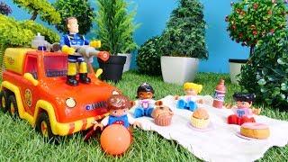Sam der Feuerwehrmann - Oje, der Wald brennt - Spielzeugvideo für Kinder