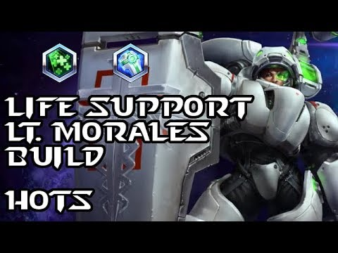 lt morales heroes of the storm build