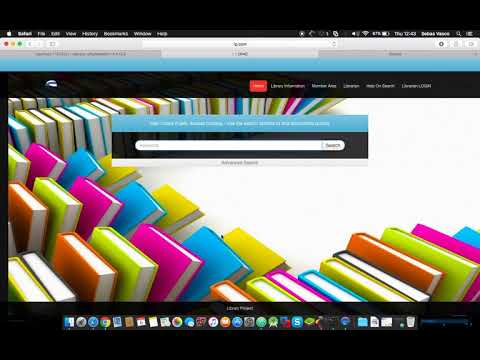Library management system  LMS Project