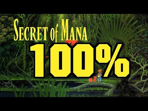 [4/5] Secret of Mana 100% almost glitchless* in 32:50:30