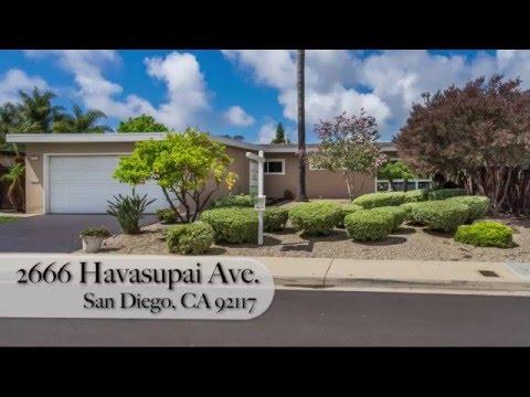 2666 Havasupai Avenue, San Diego, CA 92117