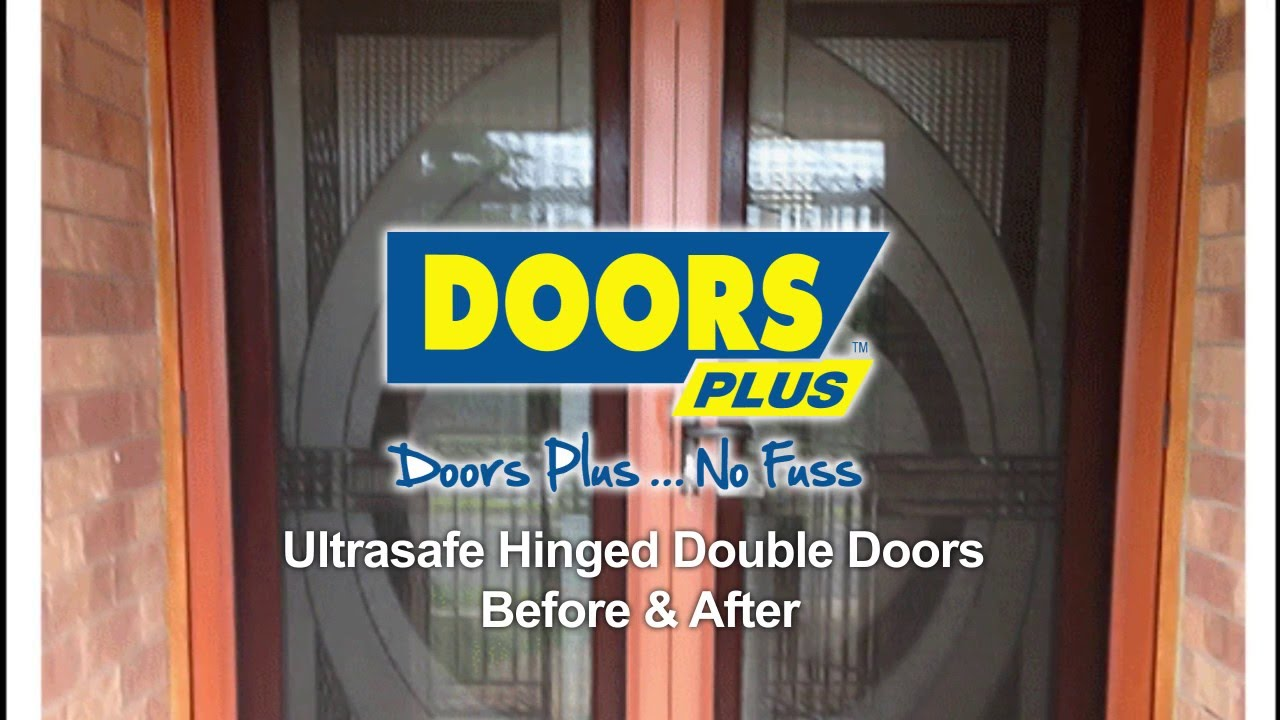 Ultrasafe security screen hinged double doors before after ultrasafe security screen hinged double doors before after doors plus vtopaller Choice Image