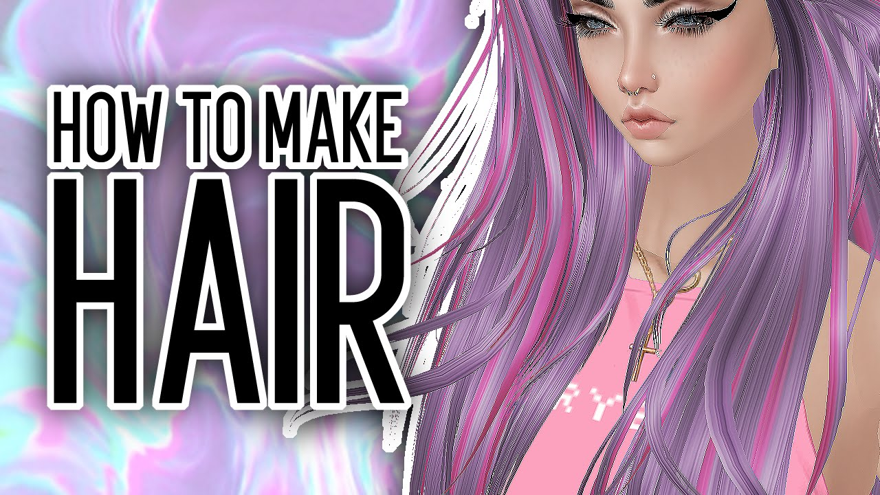 Making Hair Textures Imvu Tutorial Youtube