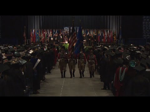 Eastern Connecticut State University Commencement Ceremony 5/16/17