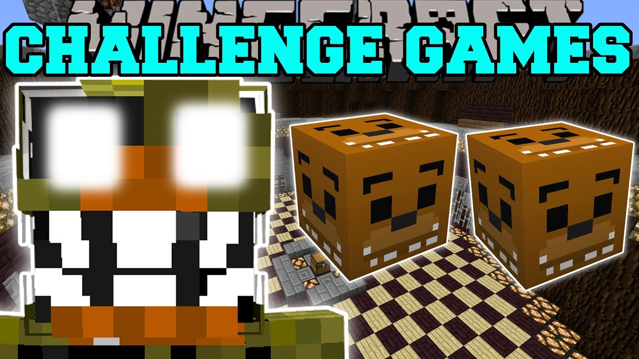 Minecraft Nightmare Chica Challenge Games Lucky Block