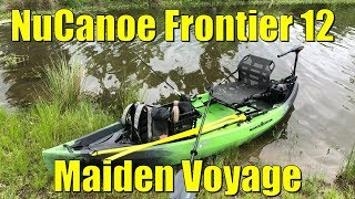 Bought The Ultimate Fishing Kayak | NuCanoe Frontier 12