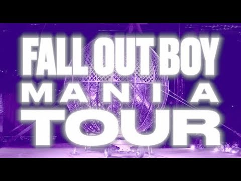Fall Out Boy - M A  N   I    A Tour 2018 🌊🌊